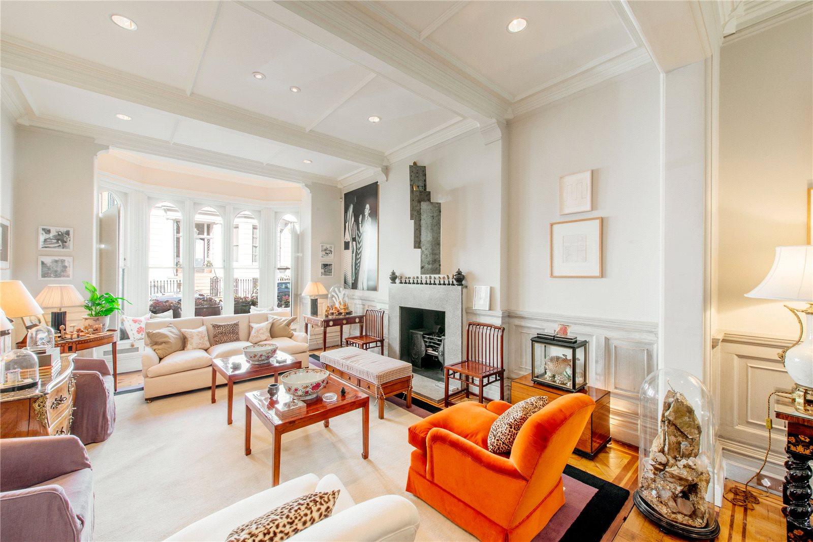 獨棟家庭住宅 為 出售 在 Phillimore Place, Kensington, London, W8 Kensington, London, 英格蘭