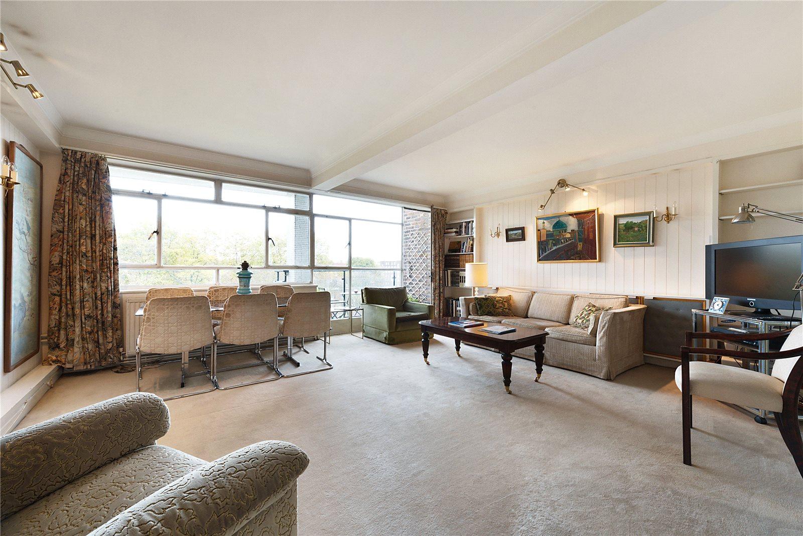 Apartments / Residences for Sale at Monckton Court, Strangways Terrace, Holland Park, London, W14 Holland Park, London, England