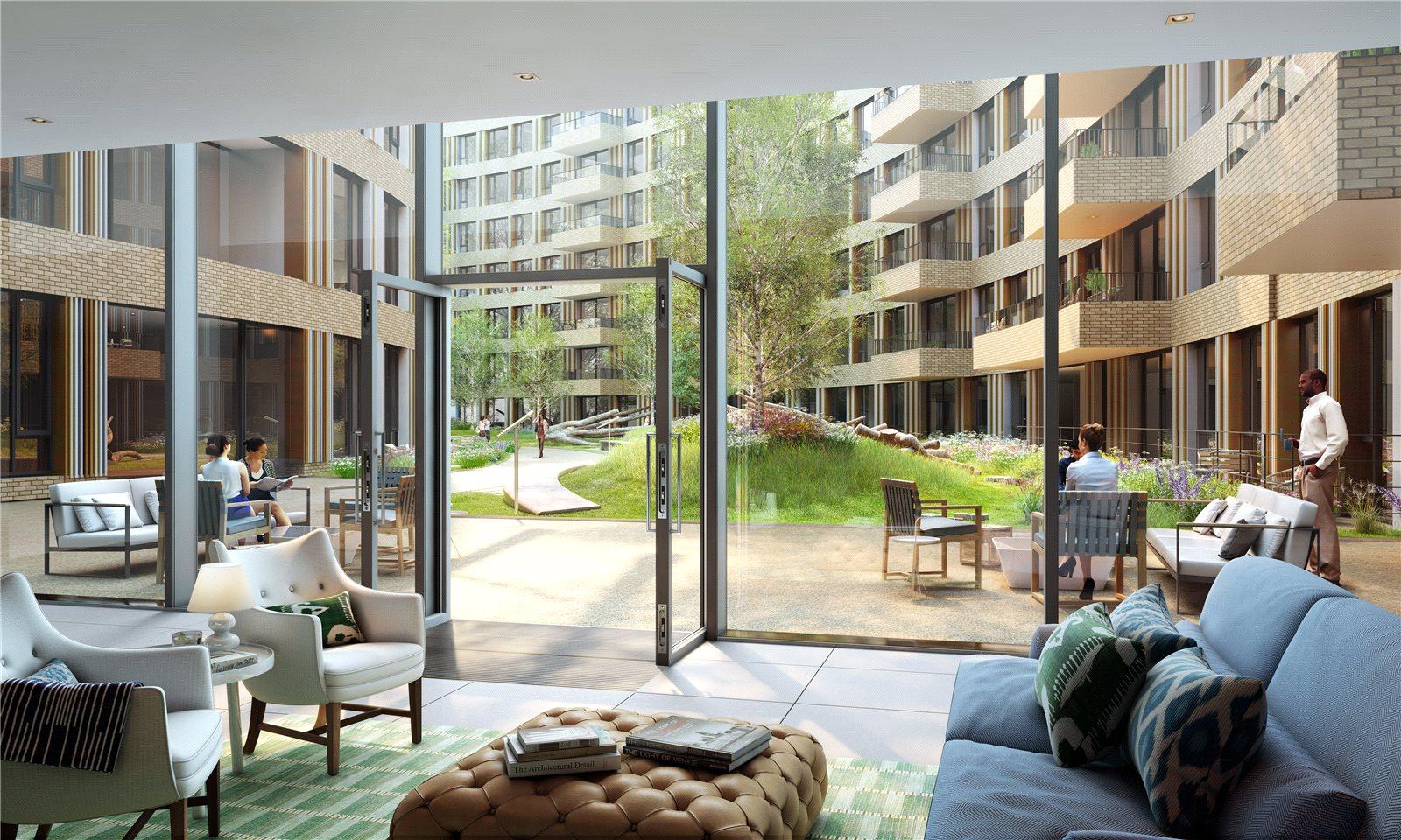 Апартаменты / Квартиры для того Продажа на Television Centre, 101 Wood Lane, London, W12 London, Англия