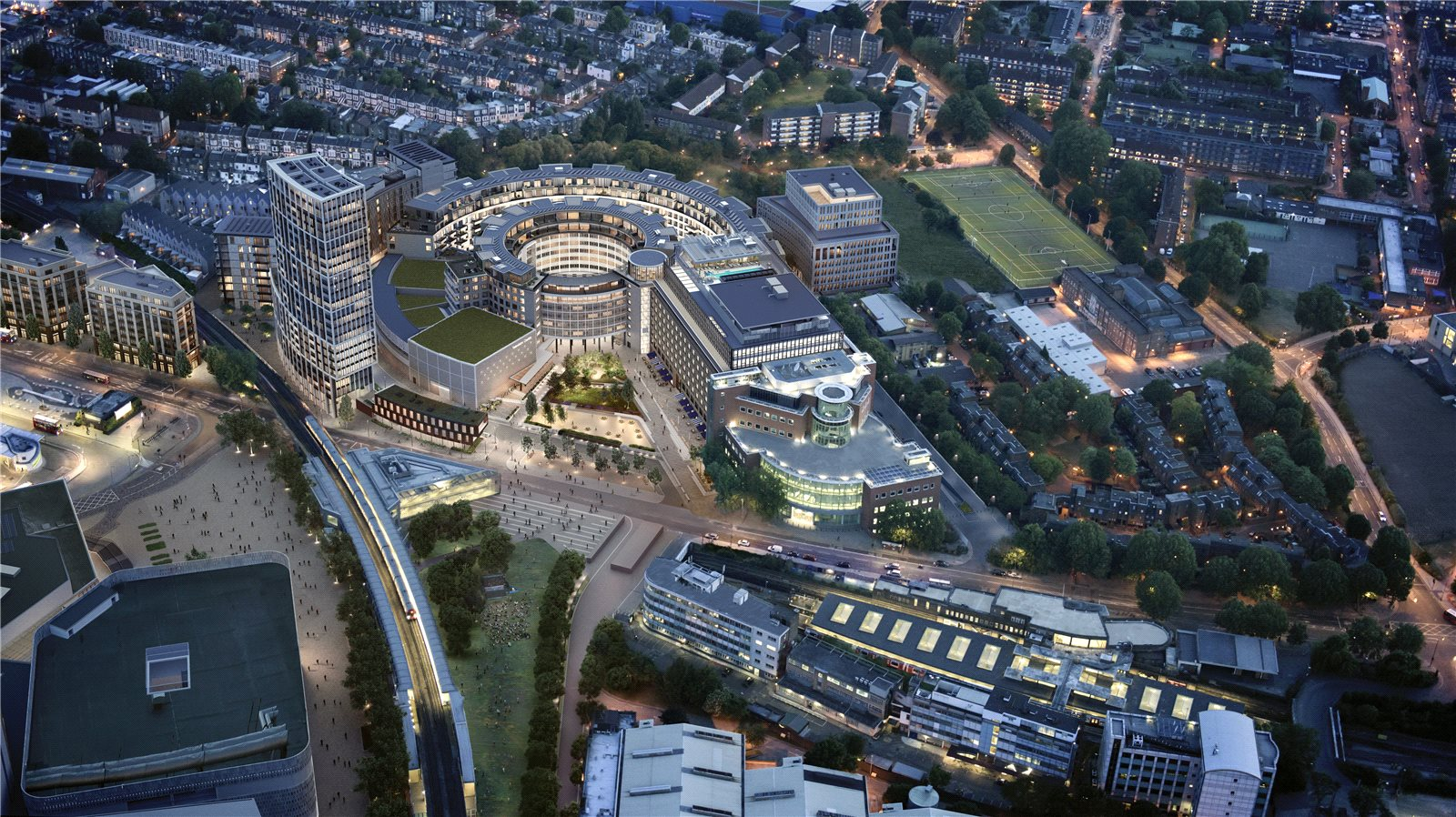 Additional photo for property listing at Television Centre, 101 Wood Lane, London, W12 London, Англия