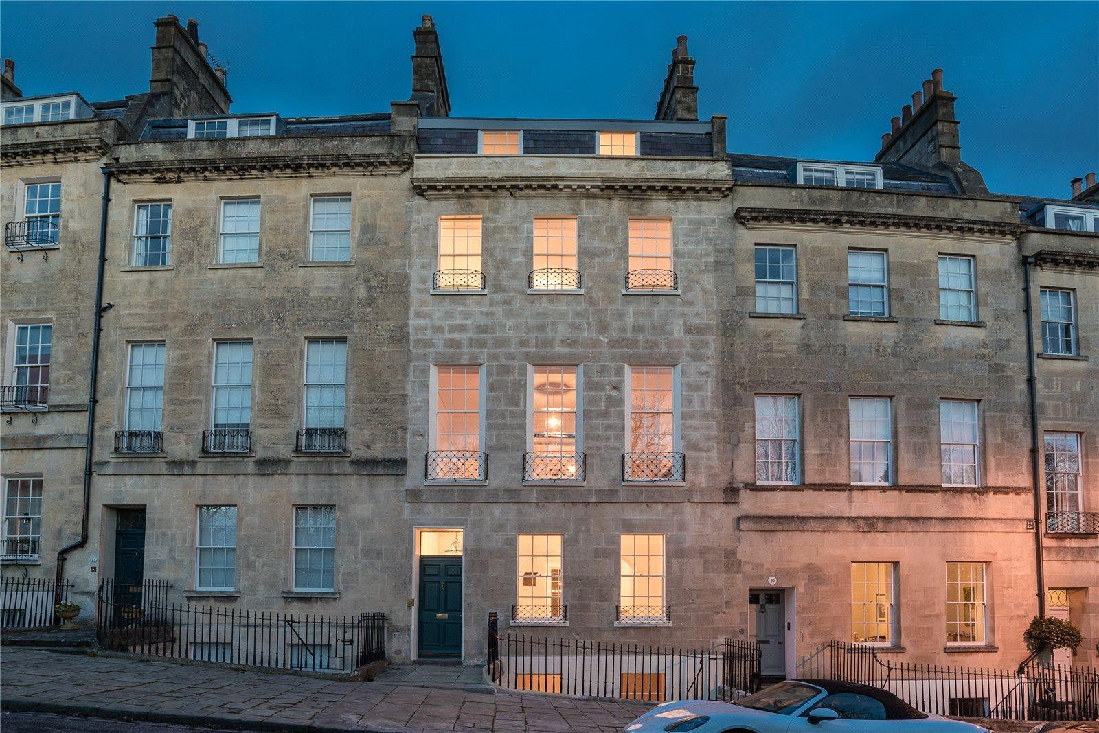 Tek Ailelik Ev için Satış at Lansdown Place East, Bath, BA1 Bath, Ingiltere