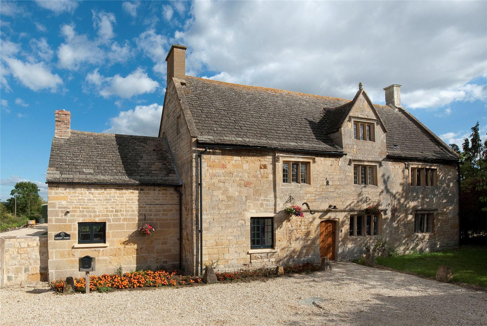 一戸建て のために 売買 アット The Green, Honeybourne, Evesham, Worcestershire, WR11 Evesham, イギリス