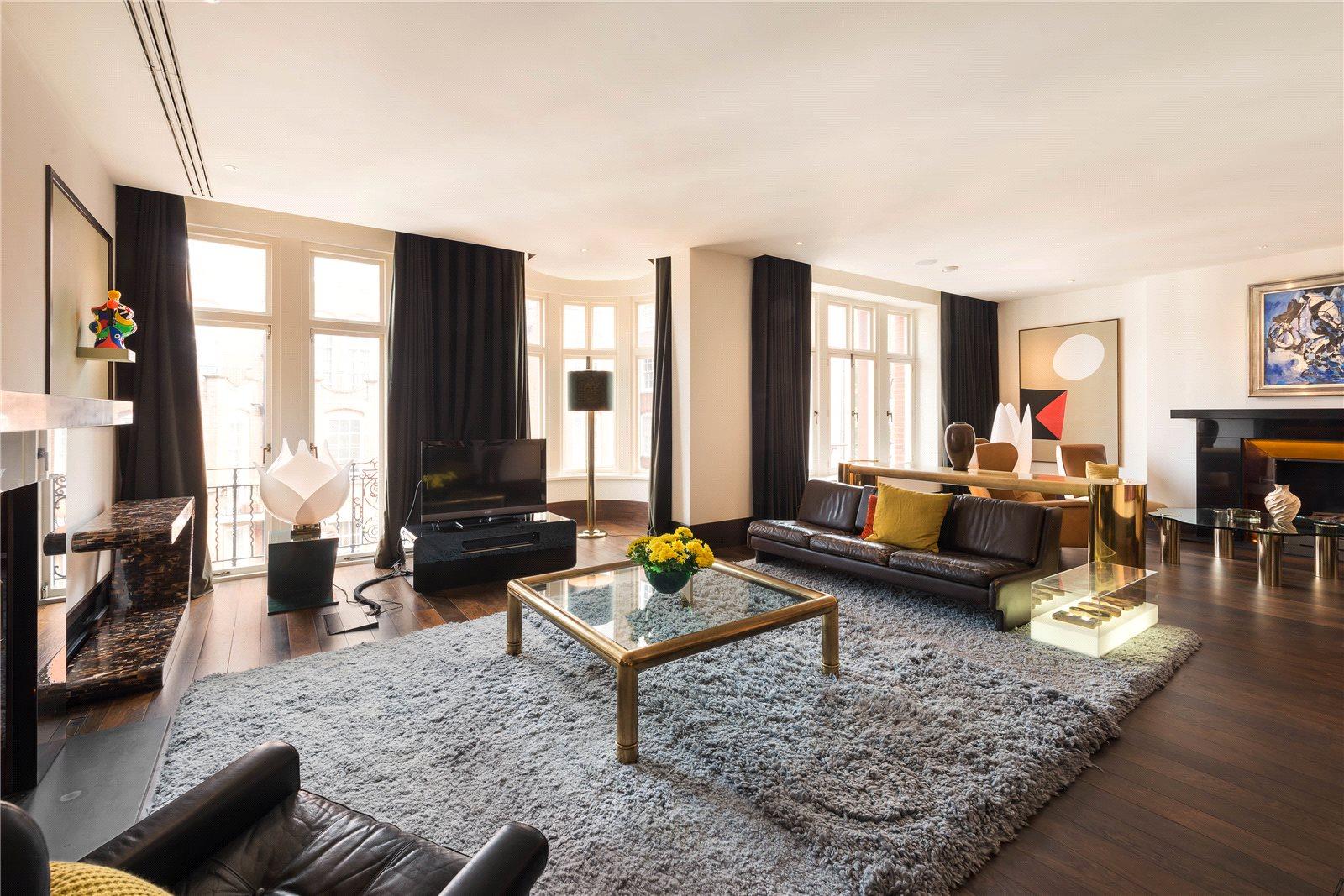 公寓 为 销售 在 Prince Edward Mansions, Hereford Road, London, W2 London, 英格兰