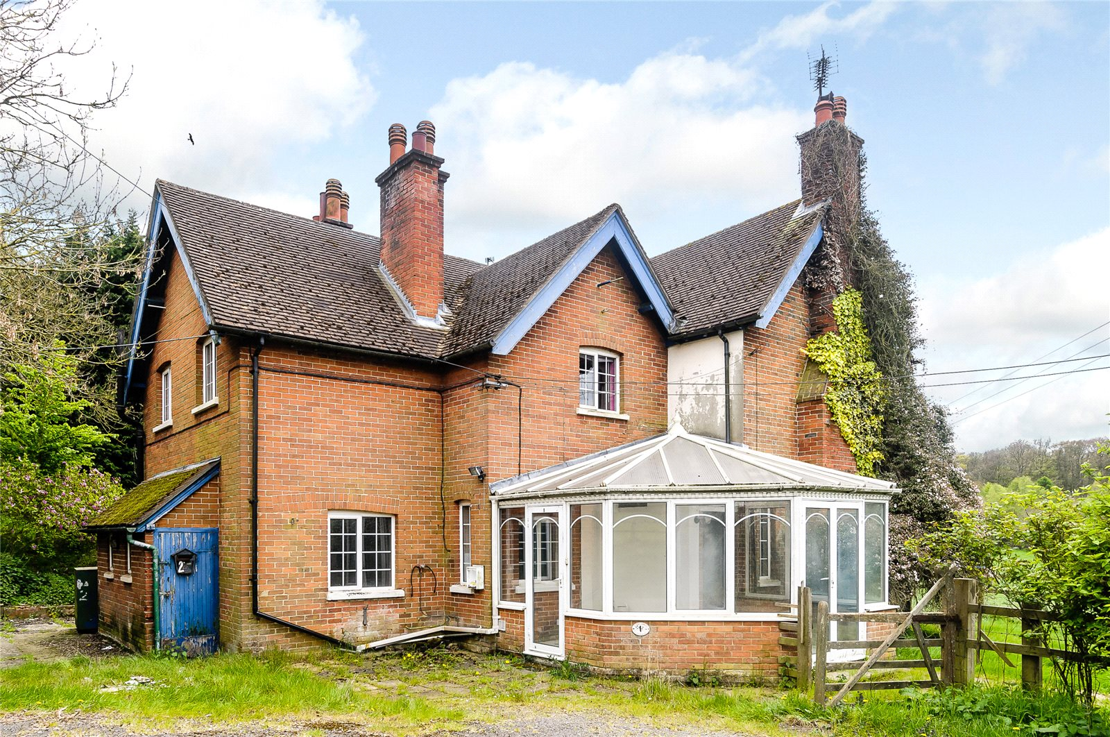 獨棟家庭住宅 為 出售 在 1 & 2 Coxlands Cottages, Burnt Hill Road, Stanford Dingley, Reading, RG7 Reading, 英格蘭