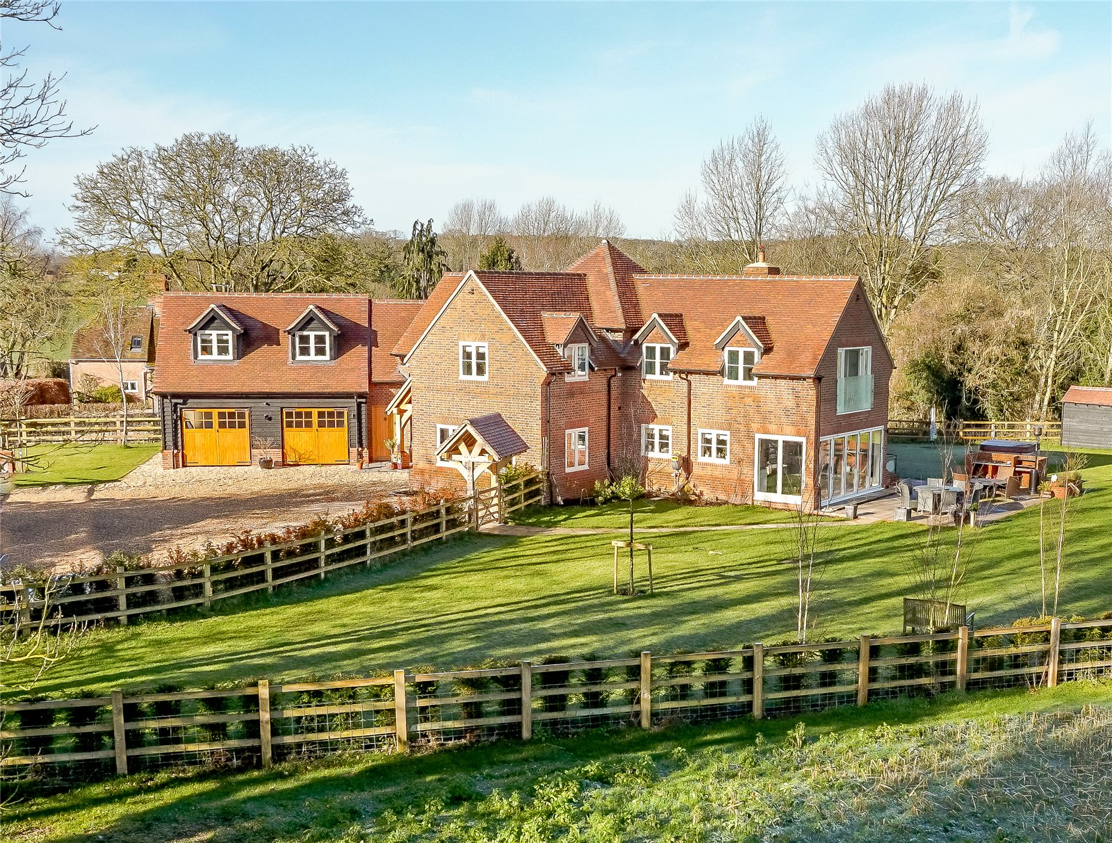 Villa per Vendita alle ore Back Lane, Stanford Dingley, Reading, RG7 Reading, Inghilterra