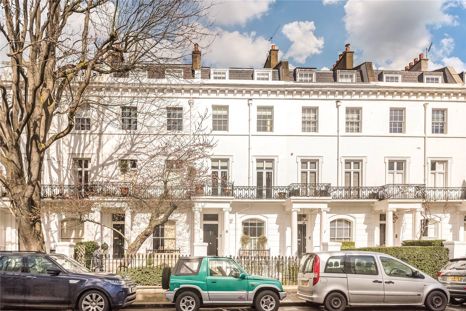 Casa para uma família para Locação às Thurloe Street, London, SW7 London, Inglaterra