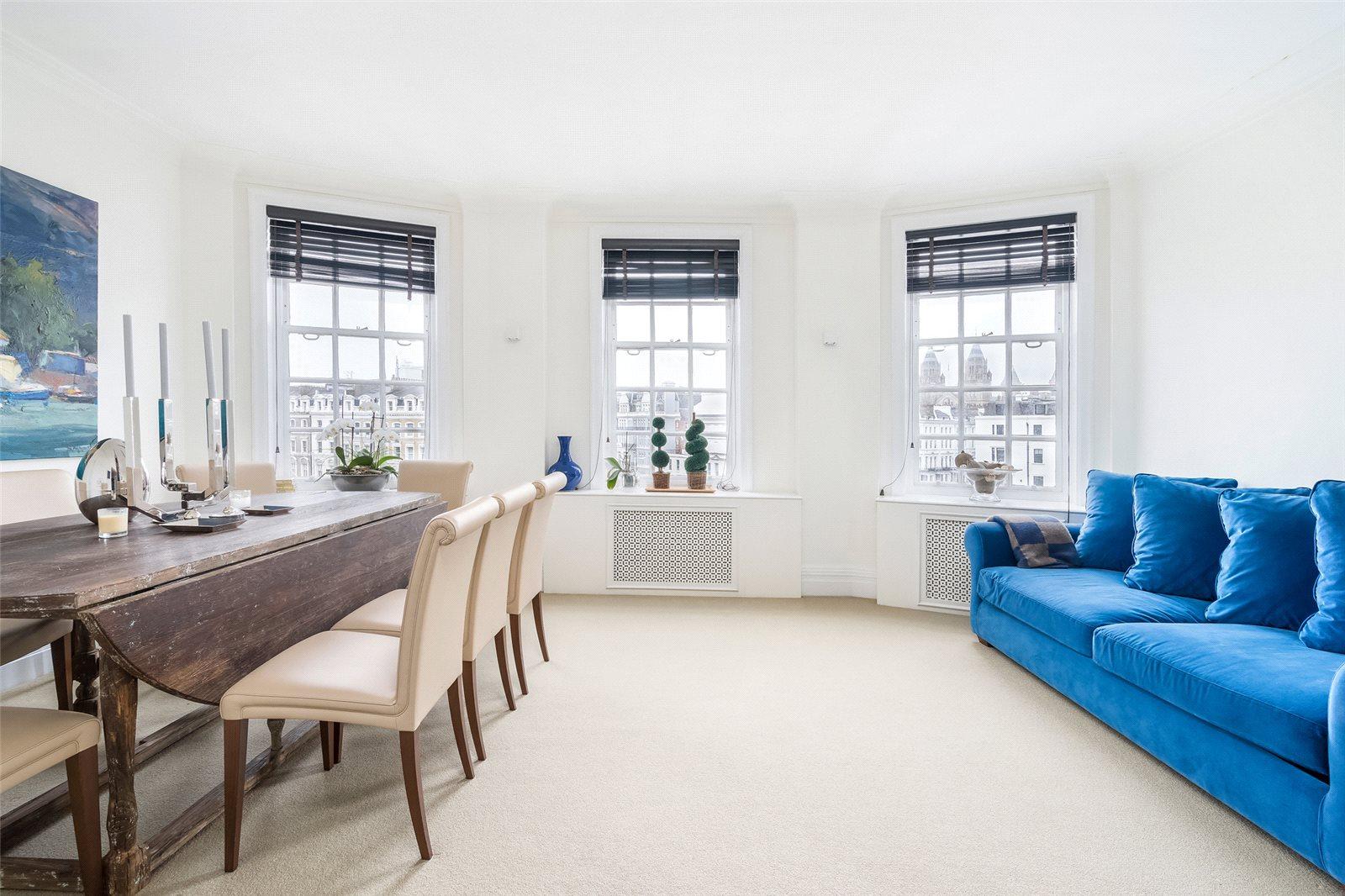 供暖系统 为 出租 在 Malvern Court, Onslow Square, London, SW7 London, 英格兰