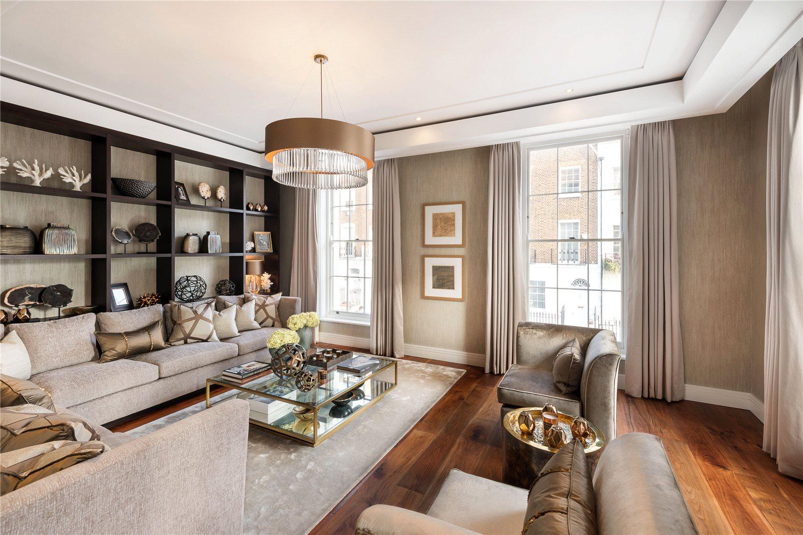 Eensgezinswoning voor Verkoop een t Montpelier Street, London, SW7 London, Engeland