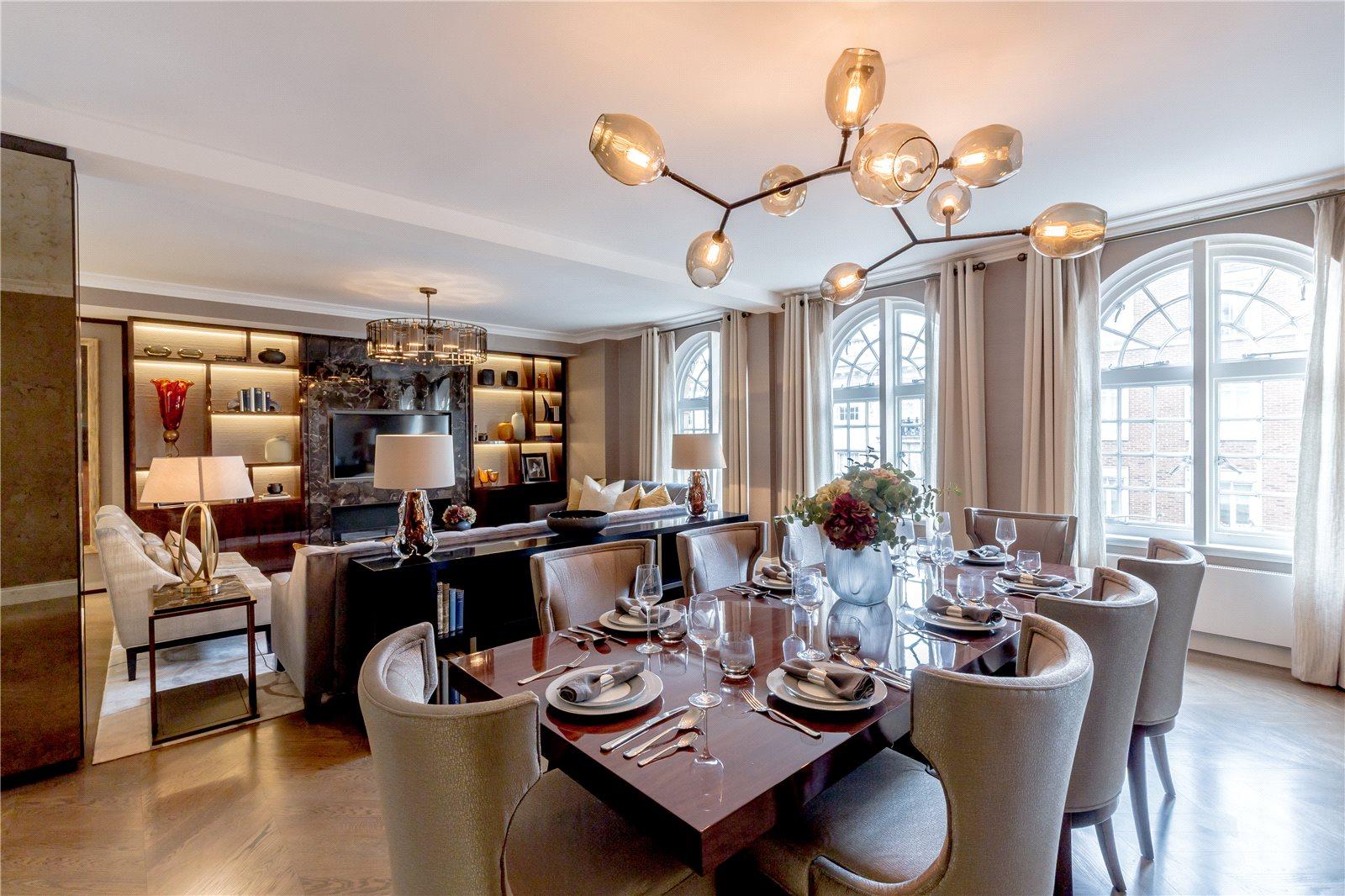 Апартаменты / Квартиры для того Продажа на Hugo House, 177 Sloane Street, London, SW1X London, Англия
