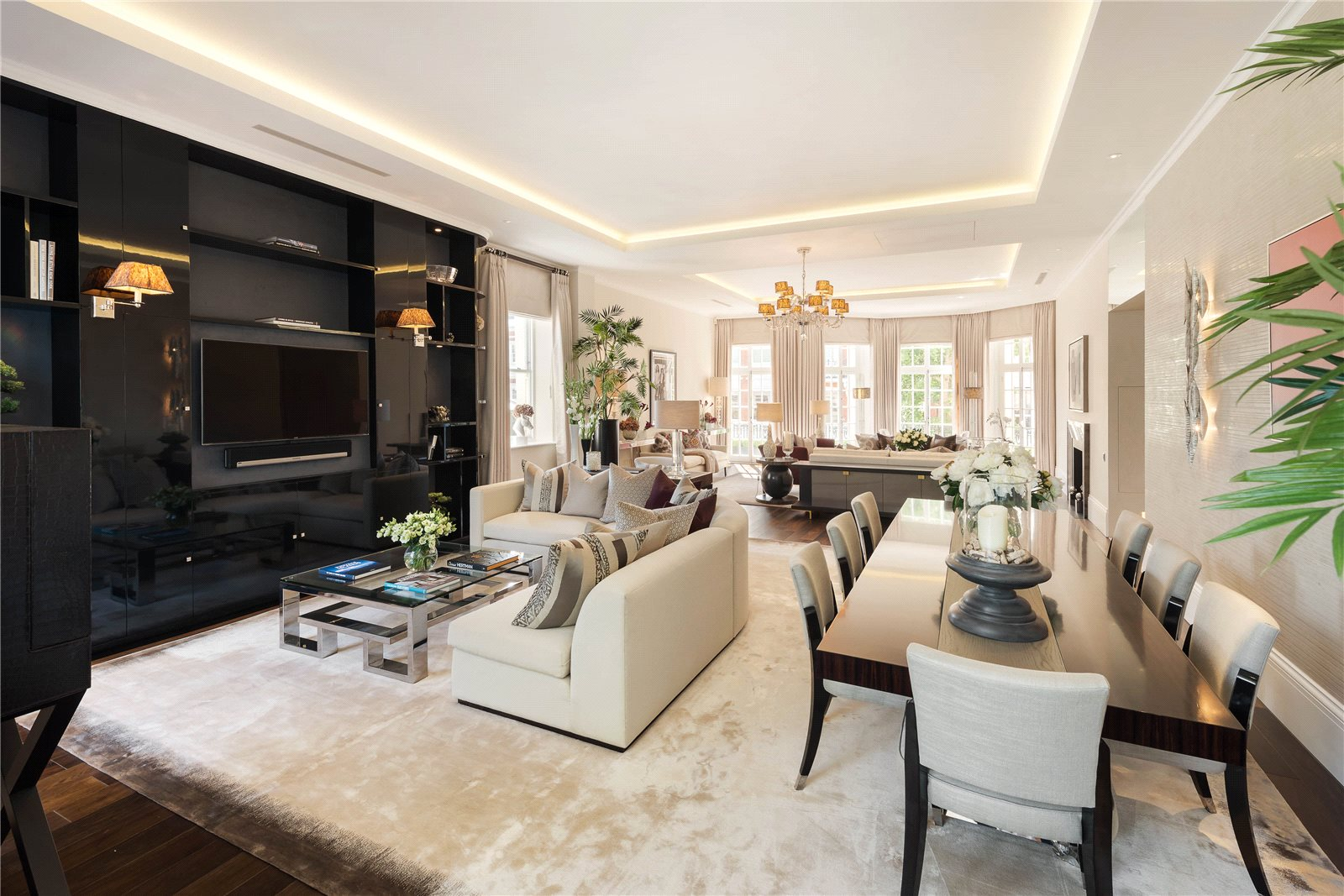 Apartments / Residences for Sale at Rutland Gardens, London, SW7 London, England