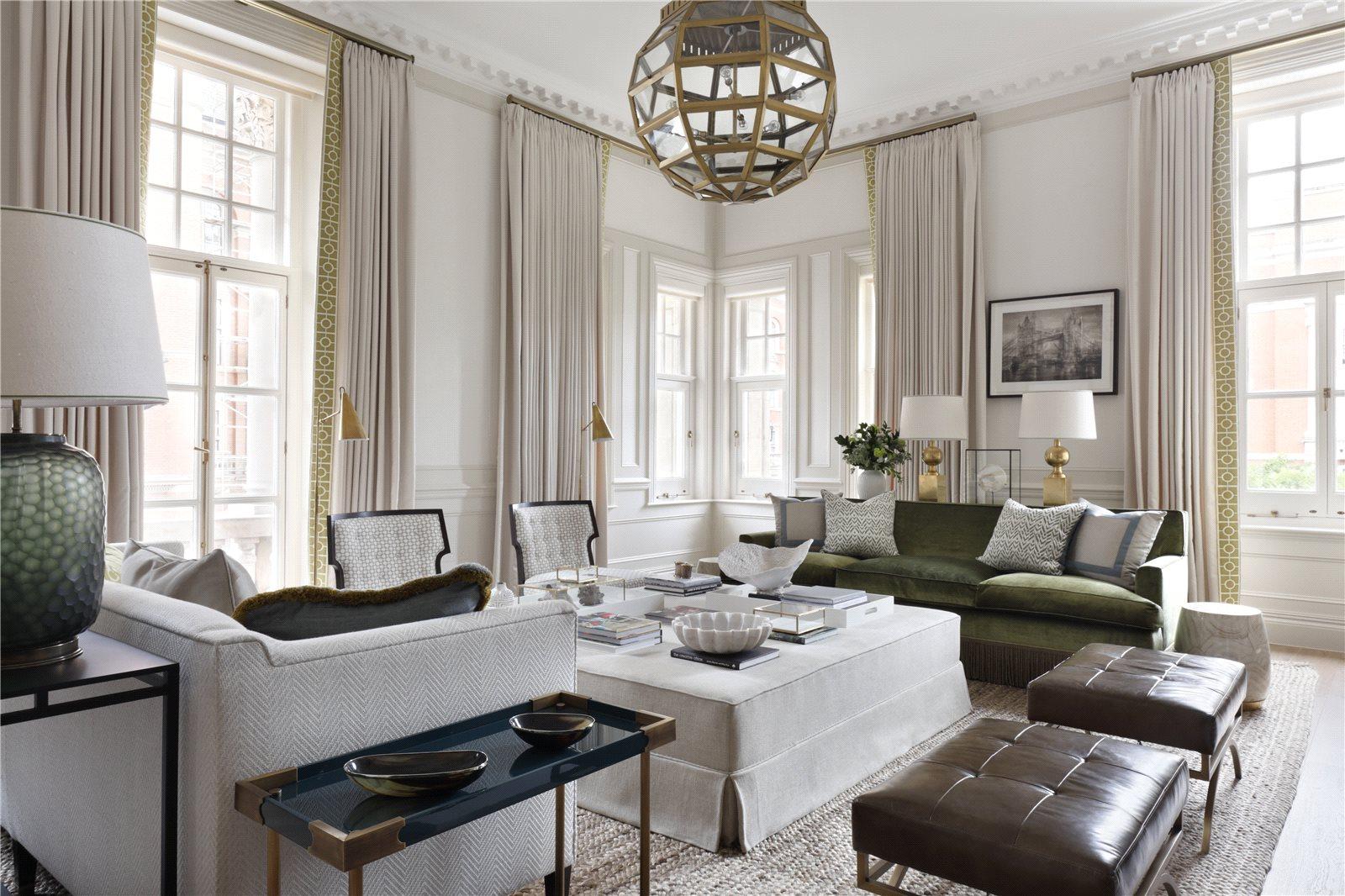 公寓 为 销售 在 Albert Court, Prince Consort Road, London, SW7 London, 英格兰