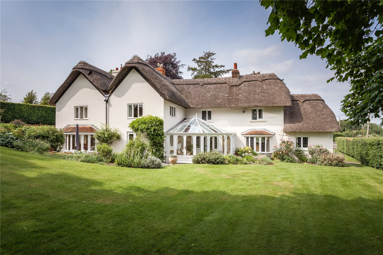 Casa para uma família para Venda às Longstock, Stockbridge, Hampshire, SO20 Stockbridge, Inglaterra