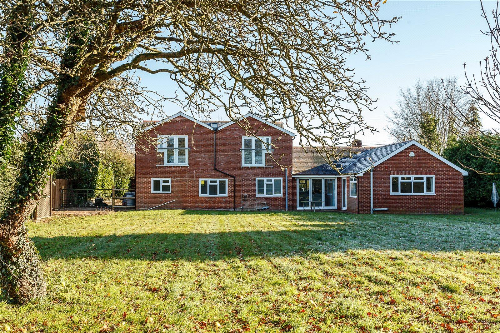 Casa para uma família para Venda às King Lane, Over Wallop, Stockbridge, Hampshire, SO20 Stockbridge, Inglaterra