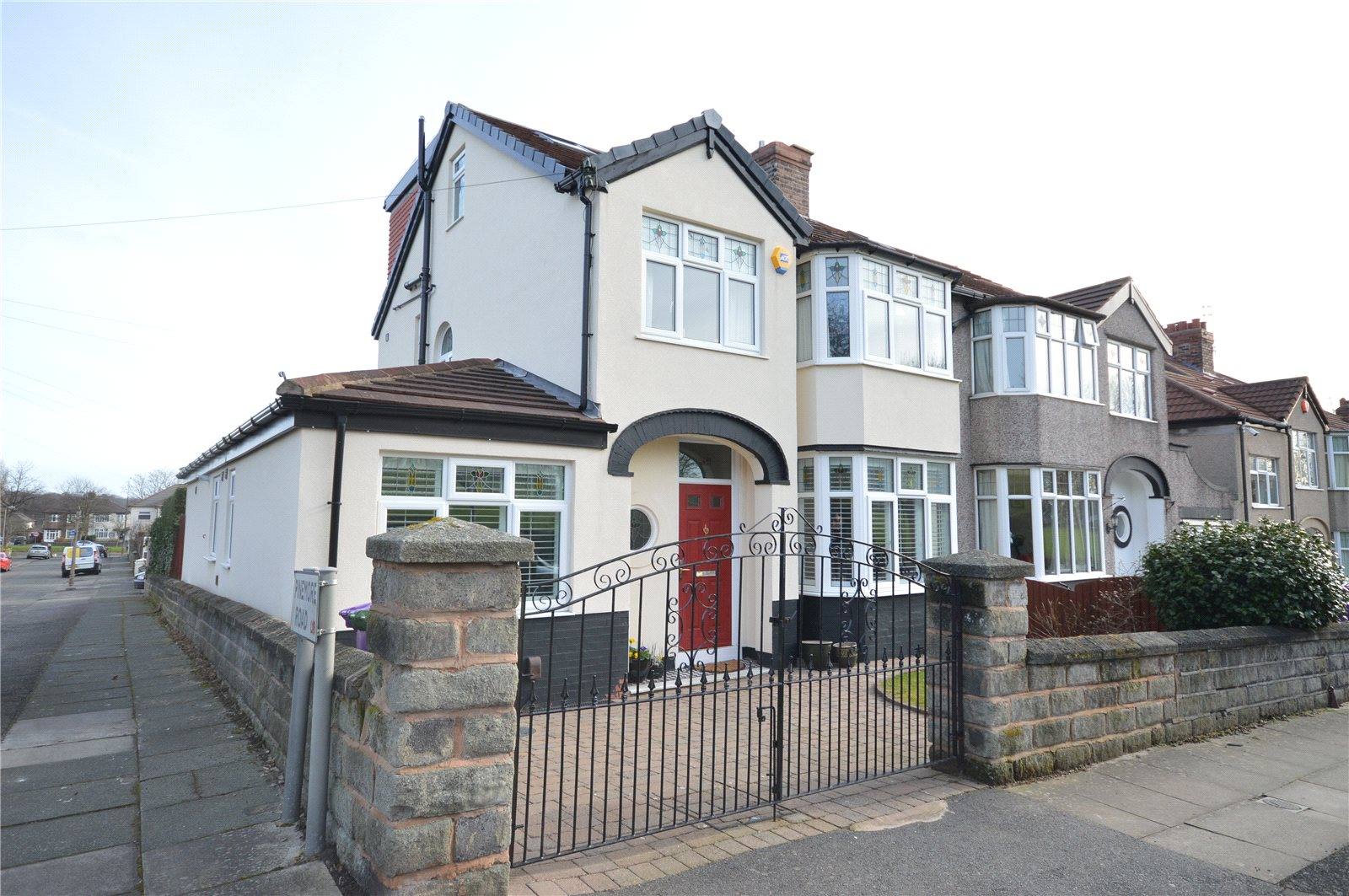 4 Bedrooms Semi Detached House for sale in Kylemore Avenue, Mossley Hill, Liverpool, L18