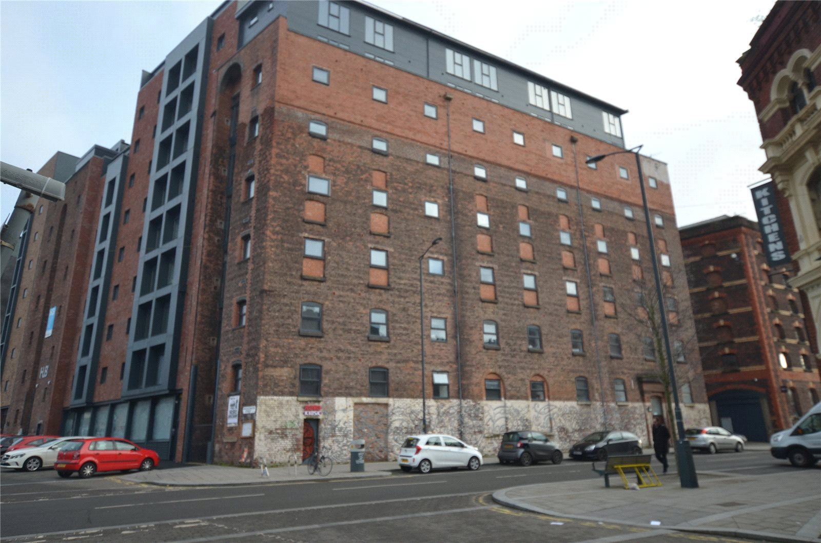 Apartment Flat for sale in Jamaica Street, Liverpool, Merseyside, L1