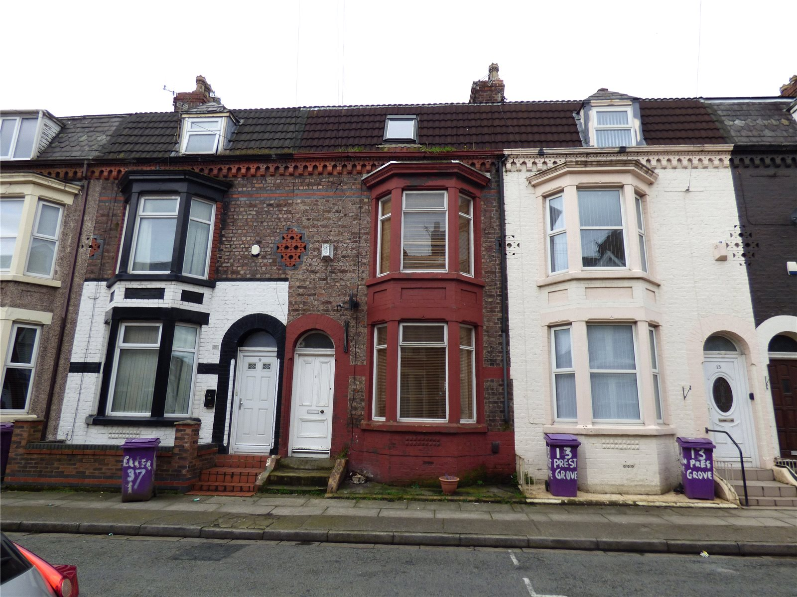 4 Bedrooms Terraced House for sale in Preston Grove, Liverpool, Merseyside, L6