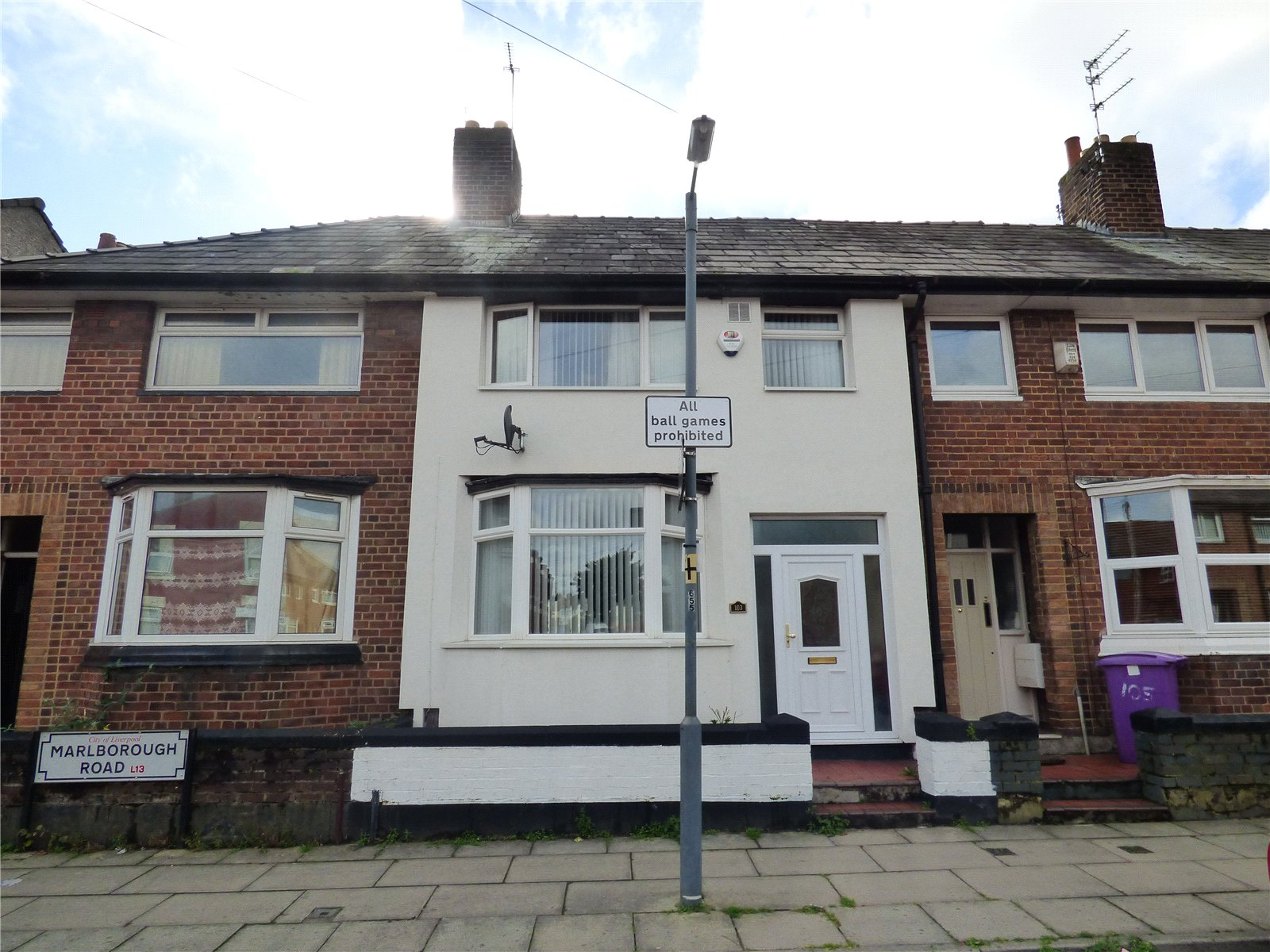 3 Bedrooms Terraced House for sale in Marlborough Road, Tuebrook, Liverpool, Merseyside, L13