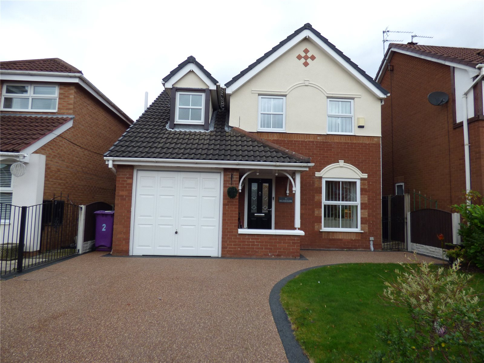 3 Bedrooms Detached House for sale in Meldon Close, Liverpool, Merseyside, L12