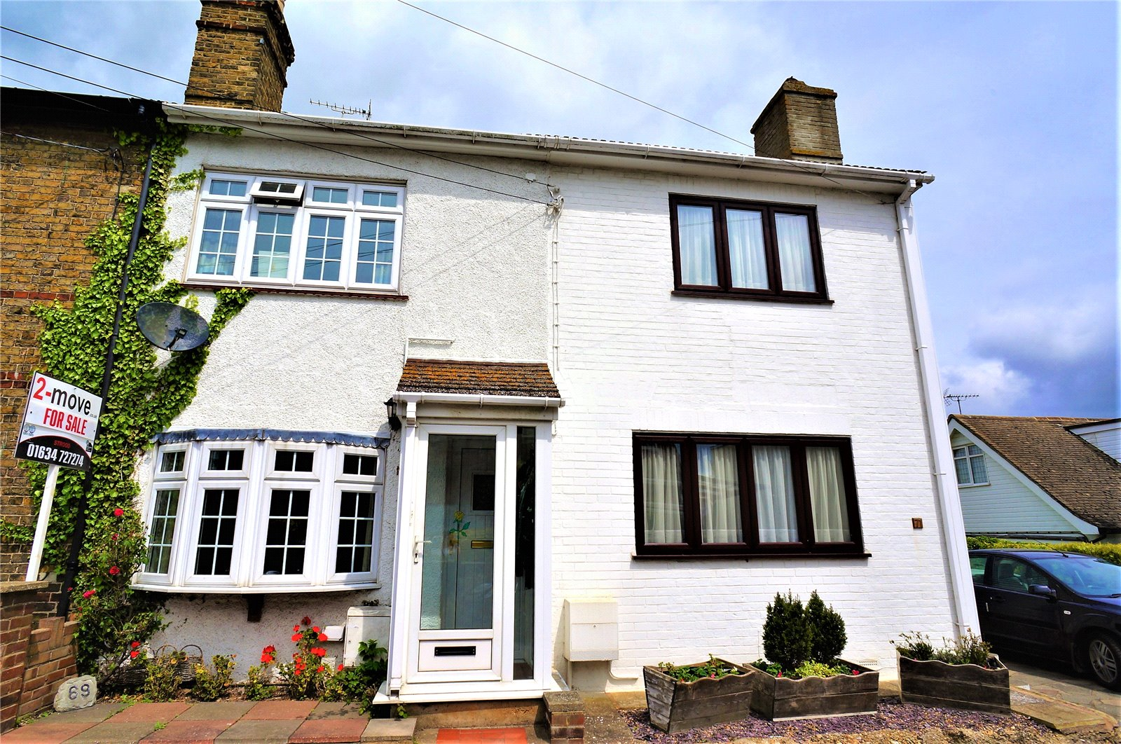 2 Bedrooms Terraced House for sale in Reed Street, Cliffe, Rochester, Kent, ME3