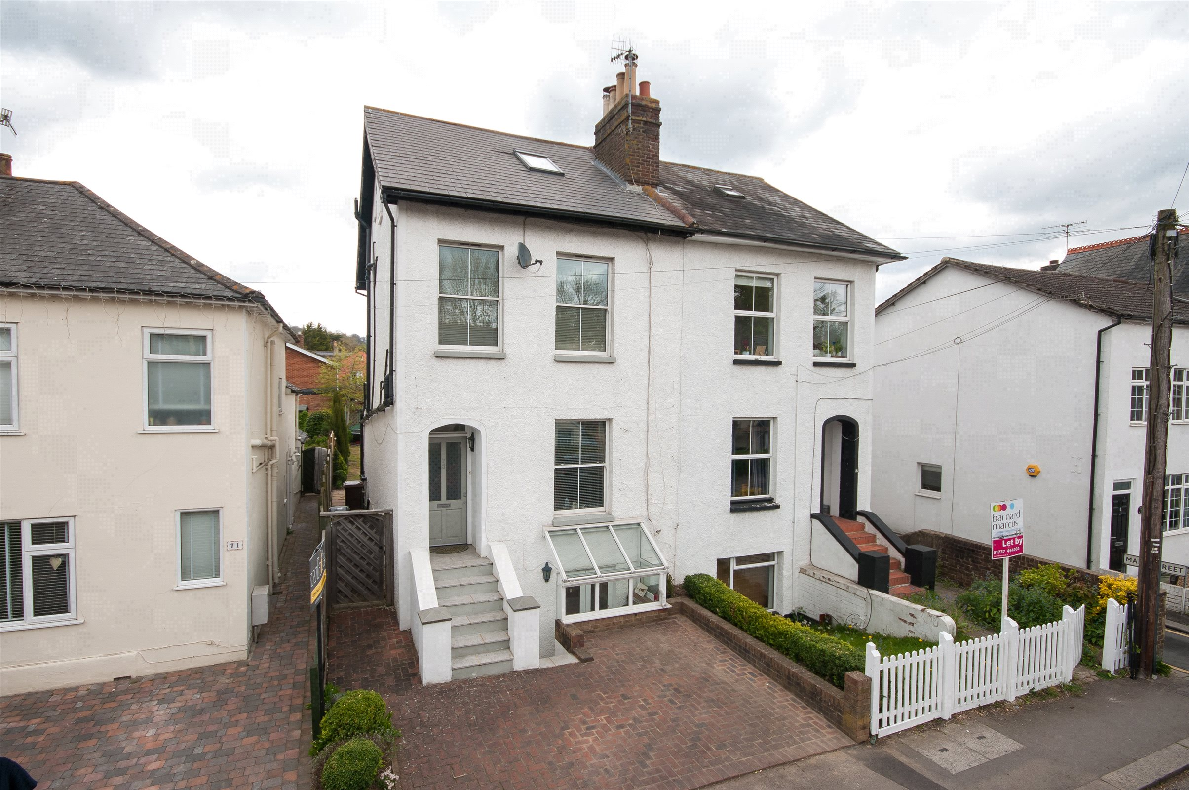 4 Bedrooms Semi Detached House for sale in Holmesdale Road, Reigate, Surrey, RH2