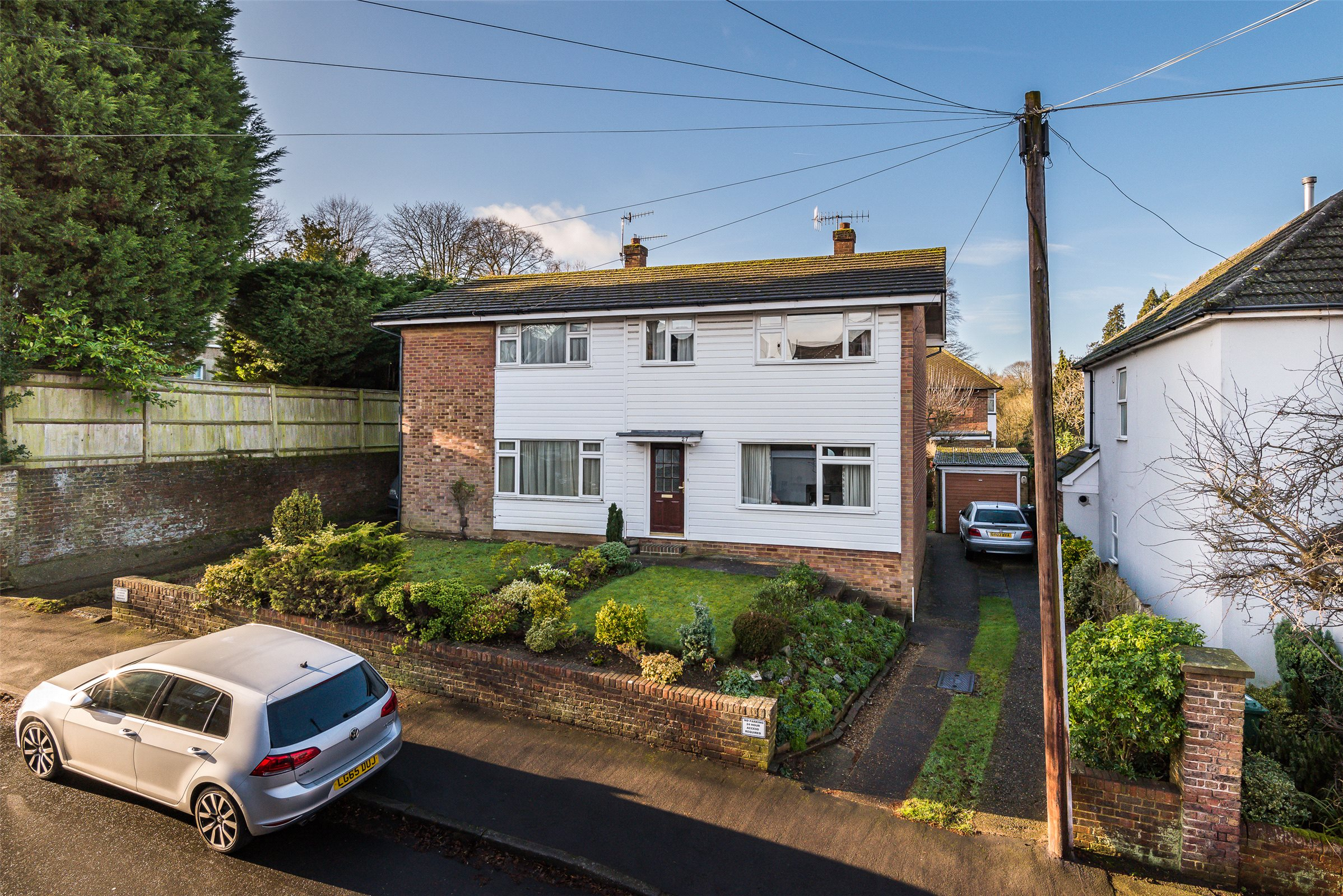 3 Bedrooms Semi Detached House for sale in Howard Road, Reigate, Surrey, RH2
