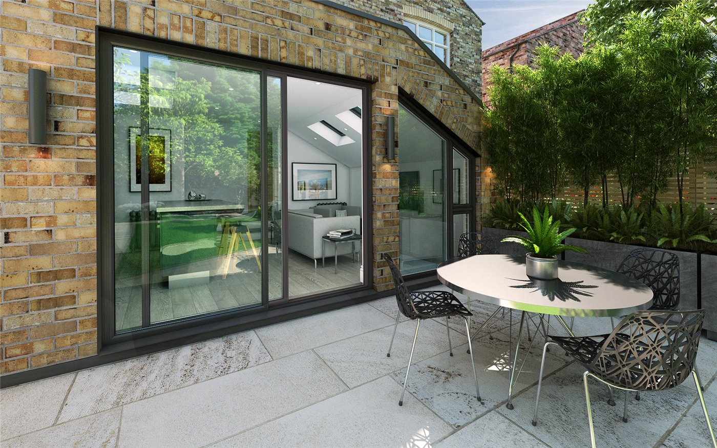 2 Bedrooms Flat for sale in Buxton Gardens, London, W3