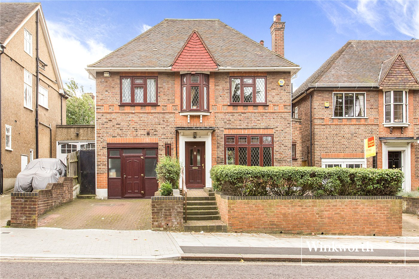 4 Bedrooms Detached House for sale in East End Road, Finchley, London, N3