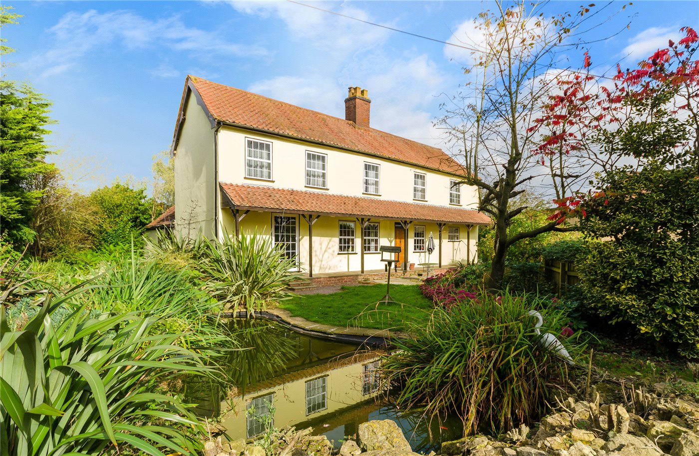 4 Bedrooms Detached House for sale in Cold Harbour, Grantham, NG31