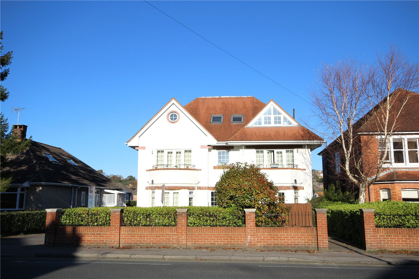3 Bedrooms Penthouse Flat for sale in Penn Hill Avenue, Lower Parkstone, Poole, Dorset, BH14