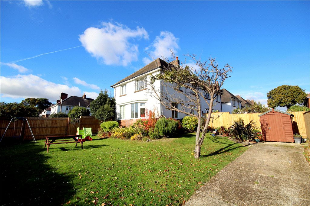 3 Bedrooms Semi Detached House for sale in Earlham Drive, Lower Parkstone, Poole, BH14