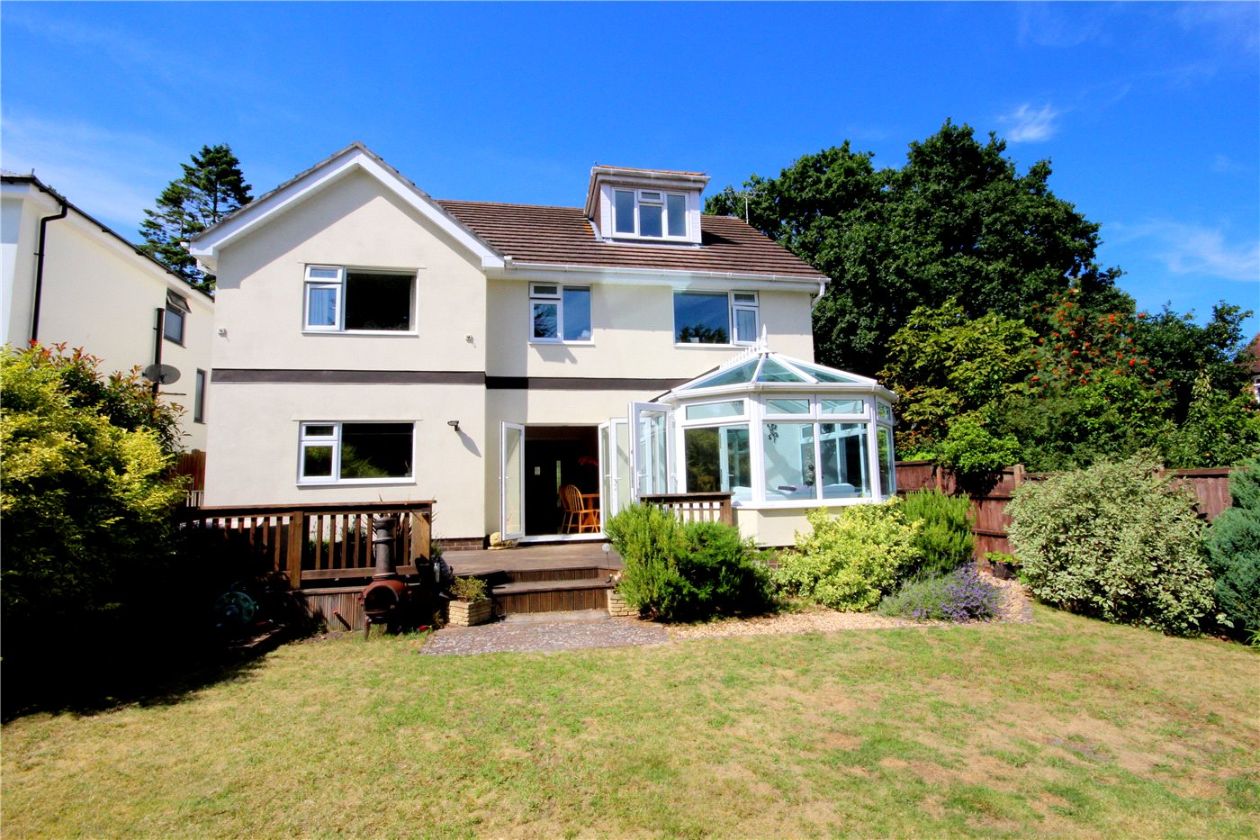 5 Bedrooms Detached House for sale in Blake Hill Crescent, Lilliput, Poole, Dorset, BH14