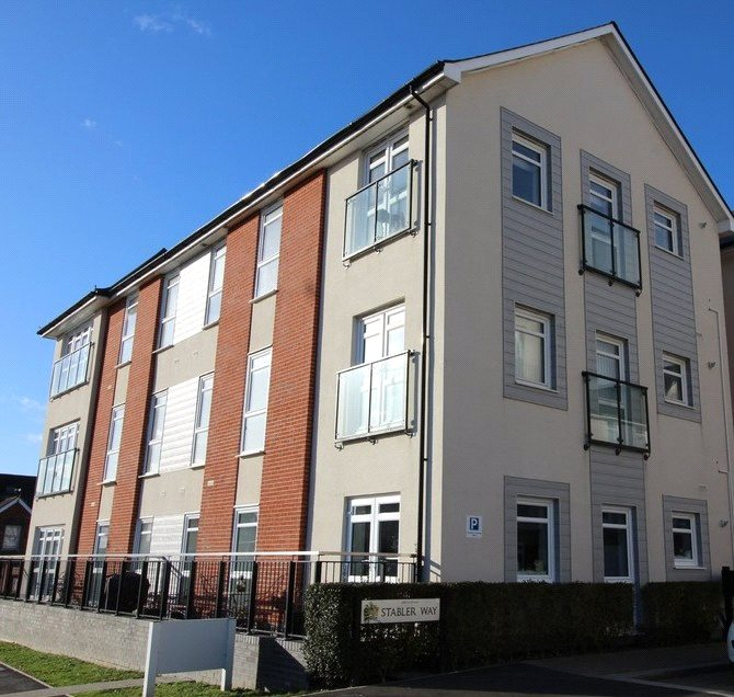 1 Bedroom Flat for sale in Stabler Way, Poole, Dorset, BH15