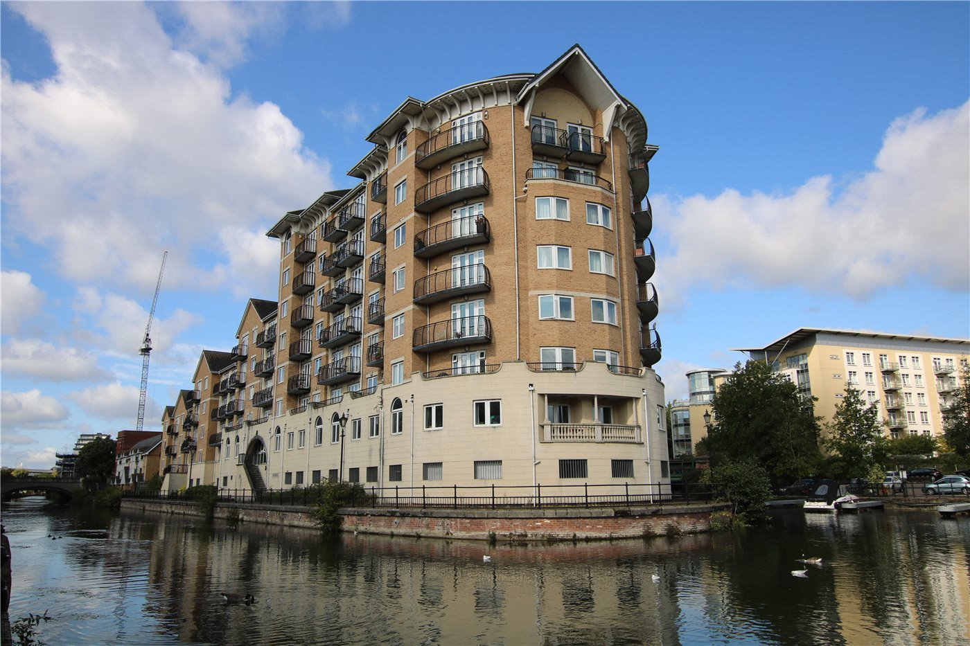 1 Bedroom Flat for sale in Blakes Quay, Gas Works Road, Reading, Berkshire, RG1