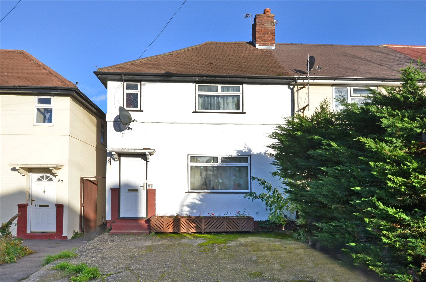 3 Bedrooms End Of Terrace House for sale in Browning Avenue, Worcester Park, KT4