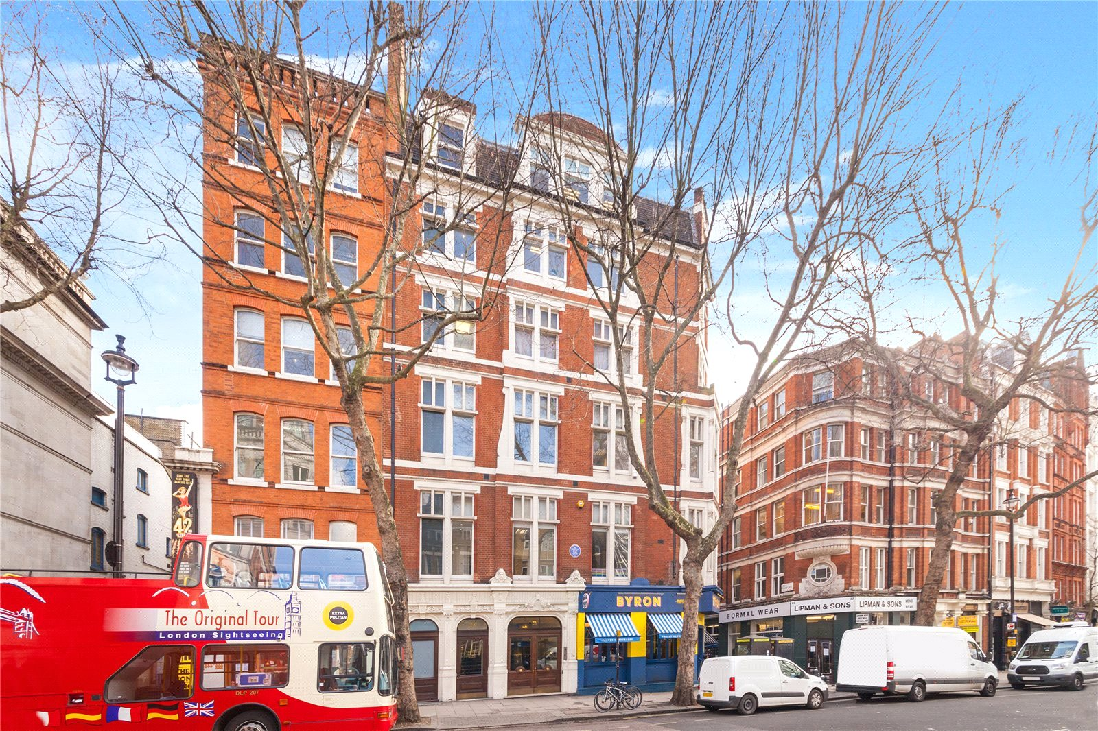 Charing Cross Mansions, 26 Charing Cross Road, WC2H