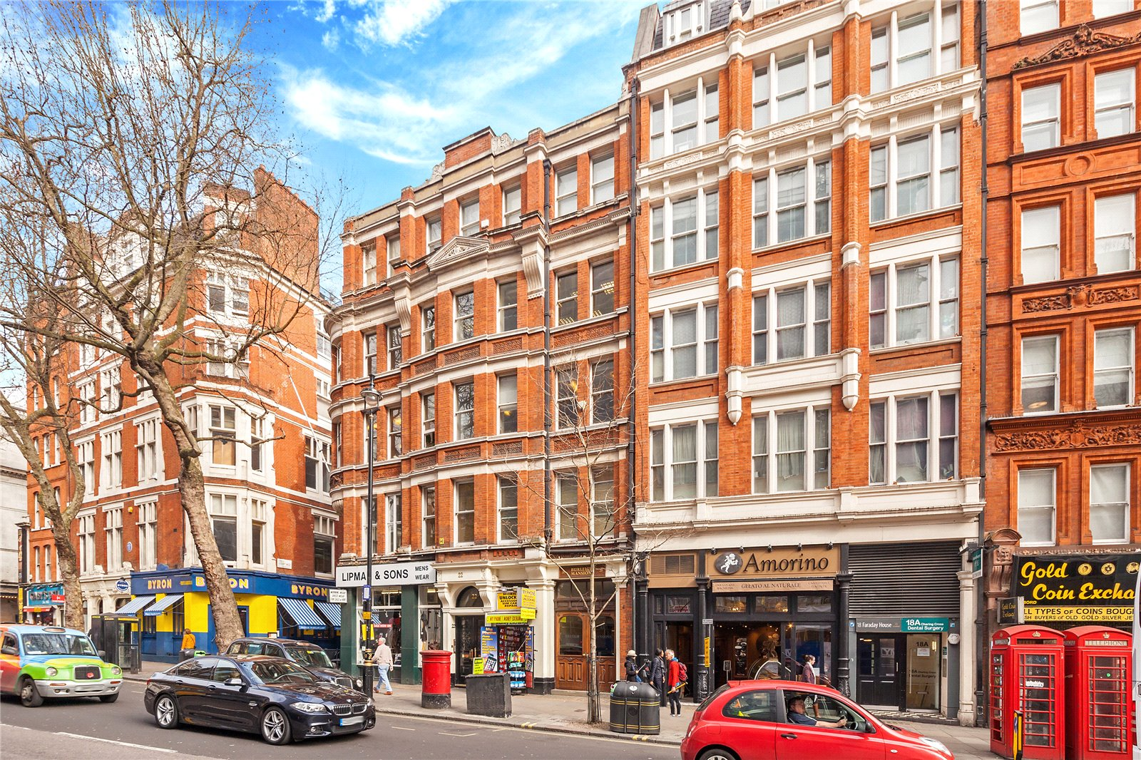 Burleigh Mansions, Covent Garden, WC2H
