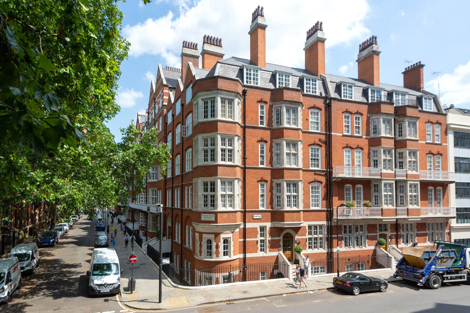 Bedford Court Mansions, Bloomsbury, WC1B