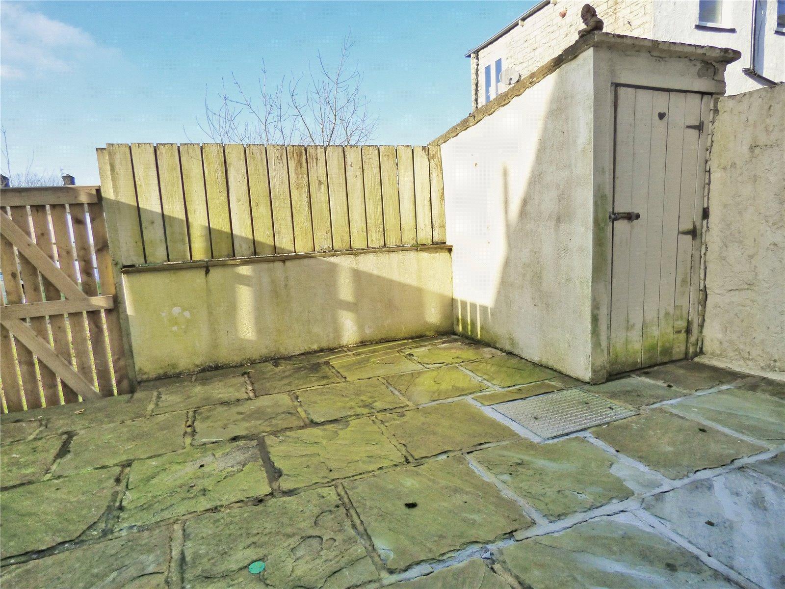 Stone Paved Yard: