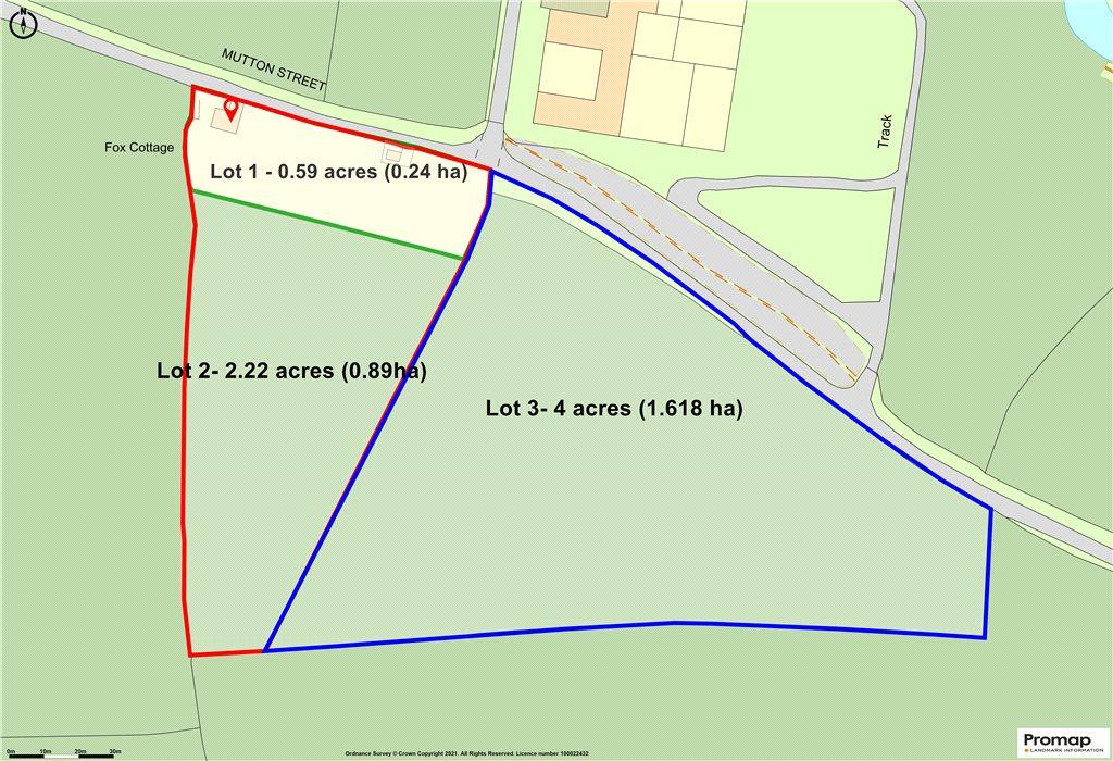 Siteplan - Marshwood, Bridport, DT6 5PZ