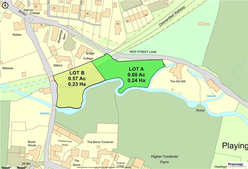 Siteplan - Loders, Bridport, Dorset, DT6 4NW