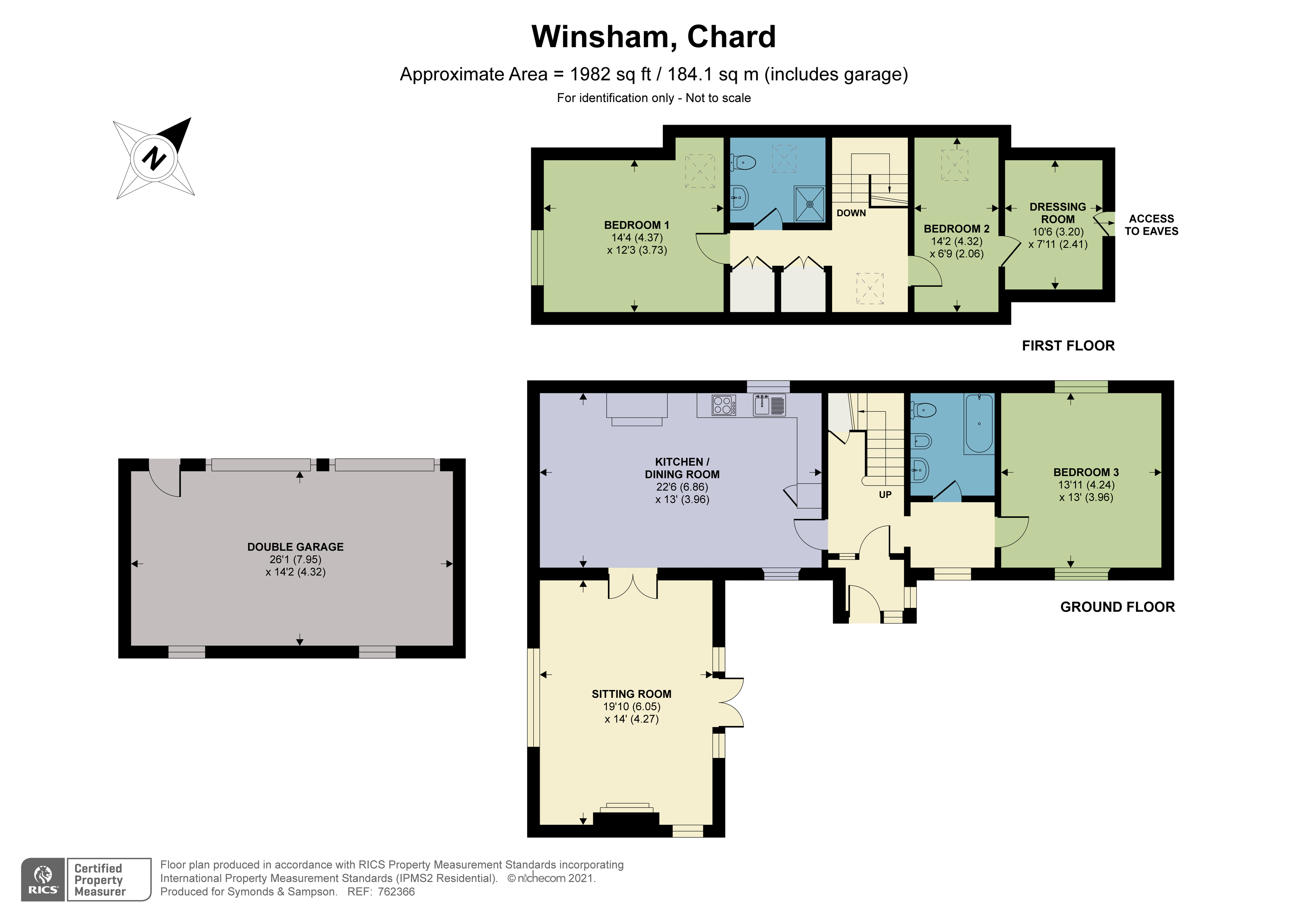 Floorplan - Back Street, Winsham, Chard, TA20 4ED