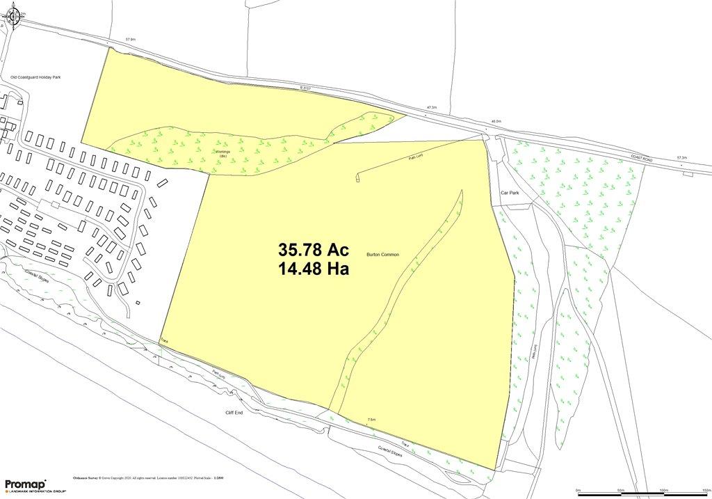 Siteplan - Coast Road, Burton Bradstock, Bridport, DT6 4RL