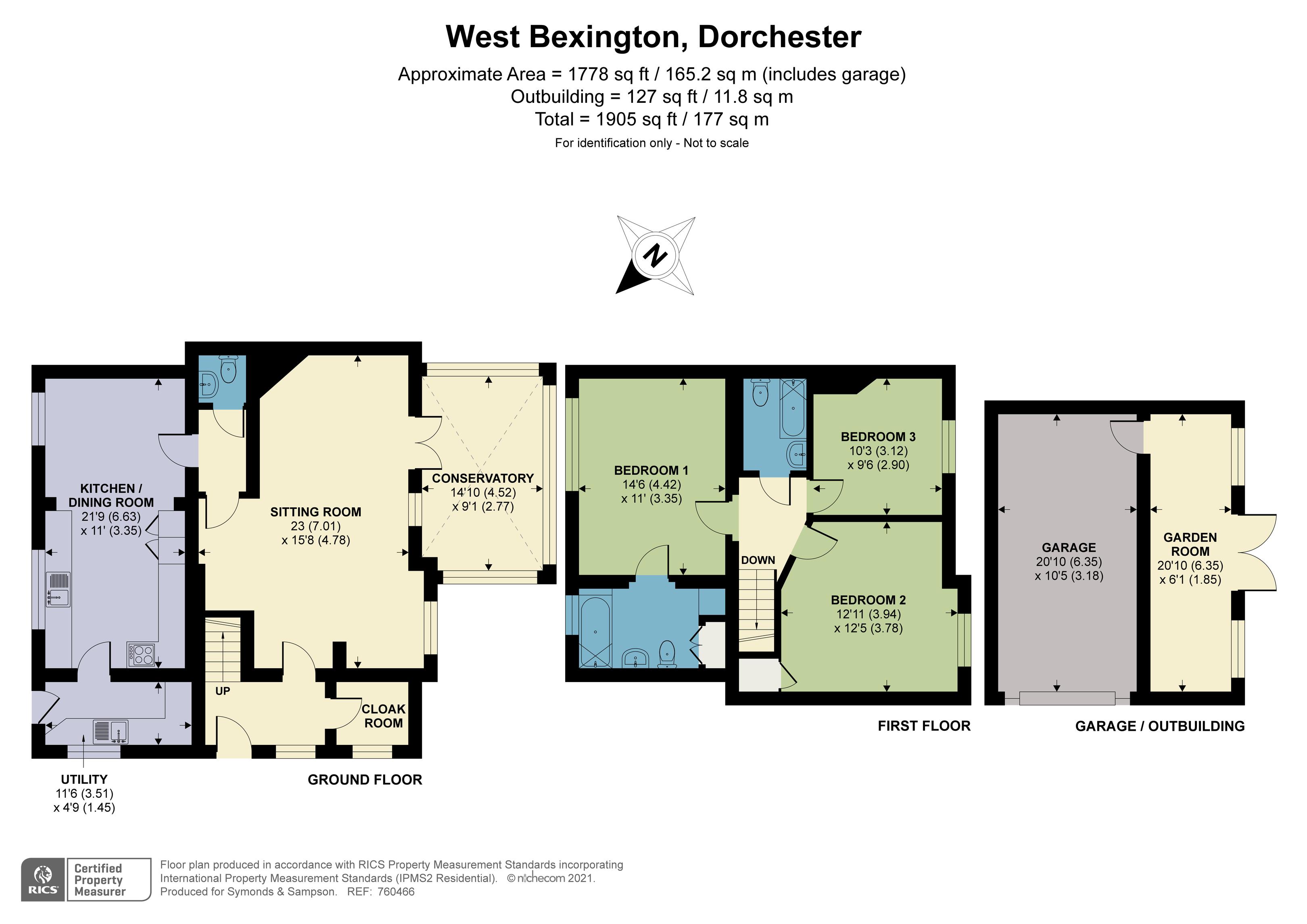 Floorplan - West Bexington, Dorchester, DT2 9DD