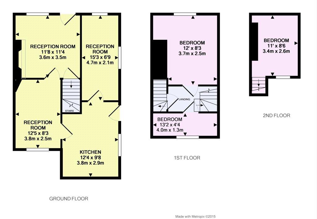 Floorplan - Gold Hill, Shaftesbury, Dorset, SP7 8HB