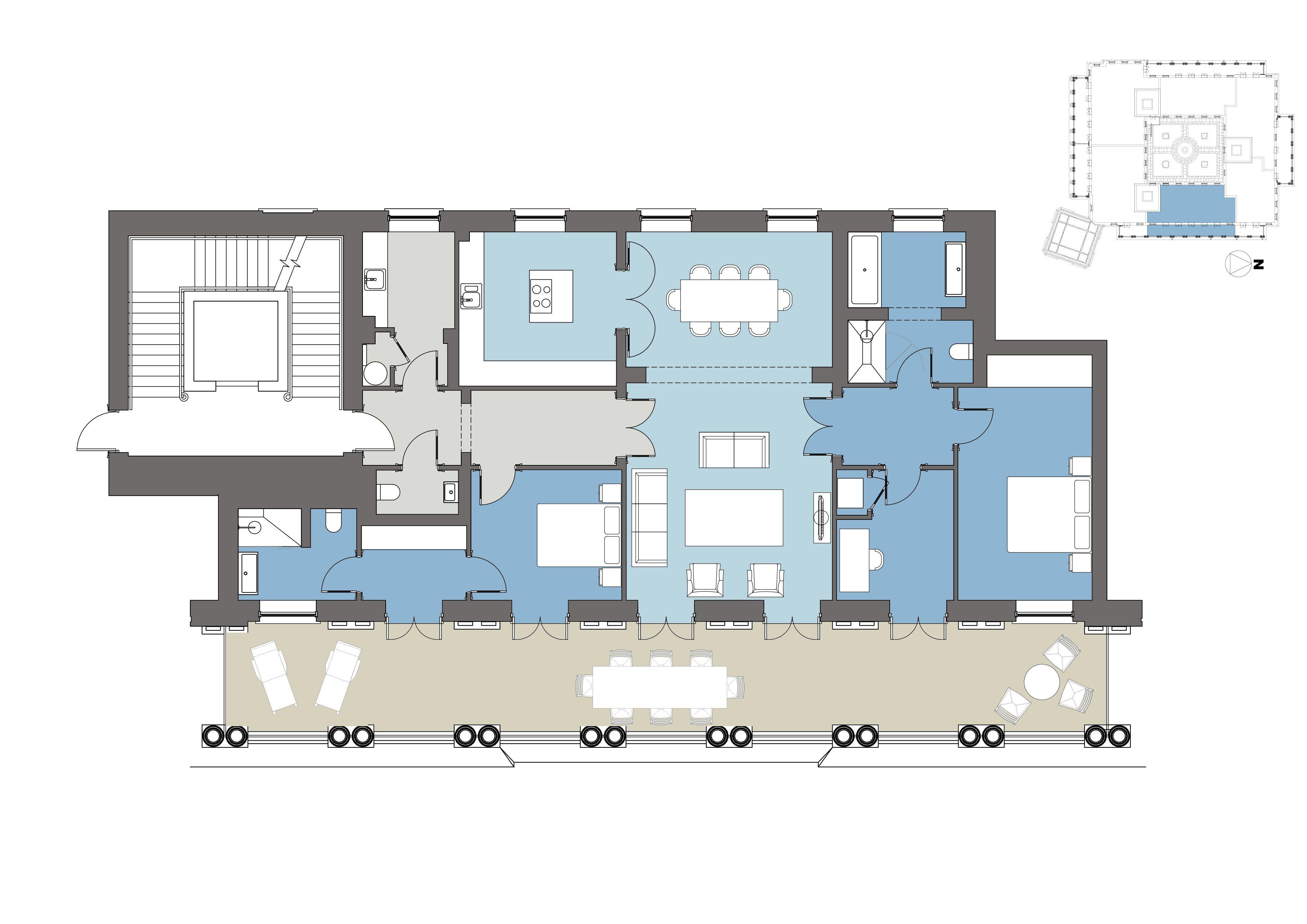 Floorplan - Pavilion Green, Poundbury, Dorchester, Dorset, DT1 3DU