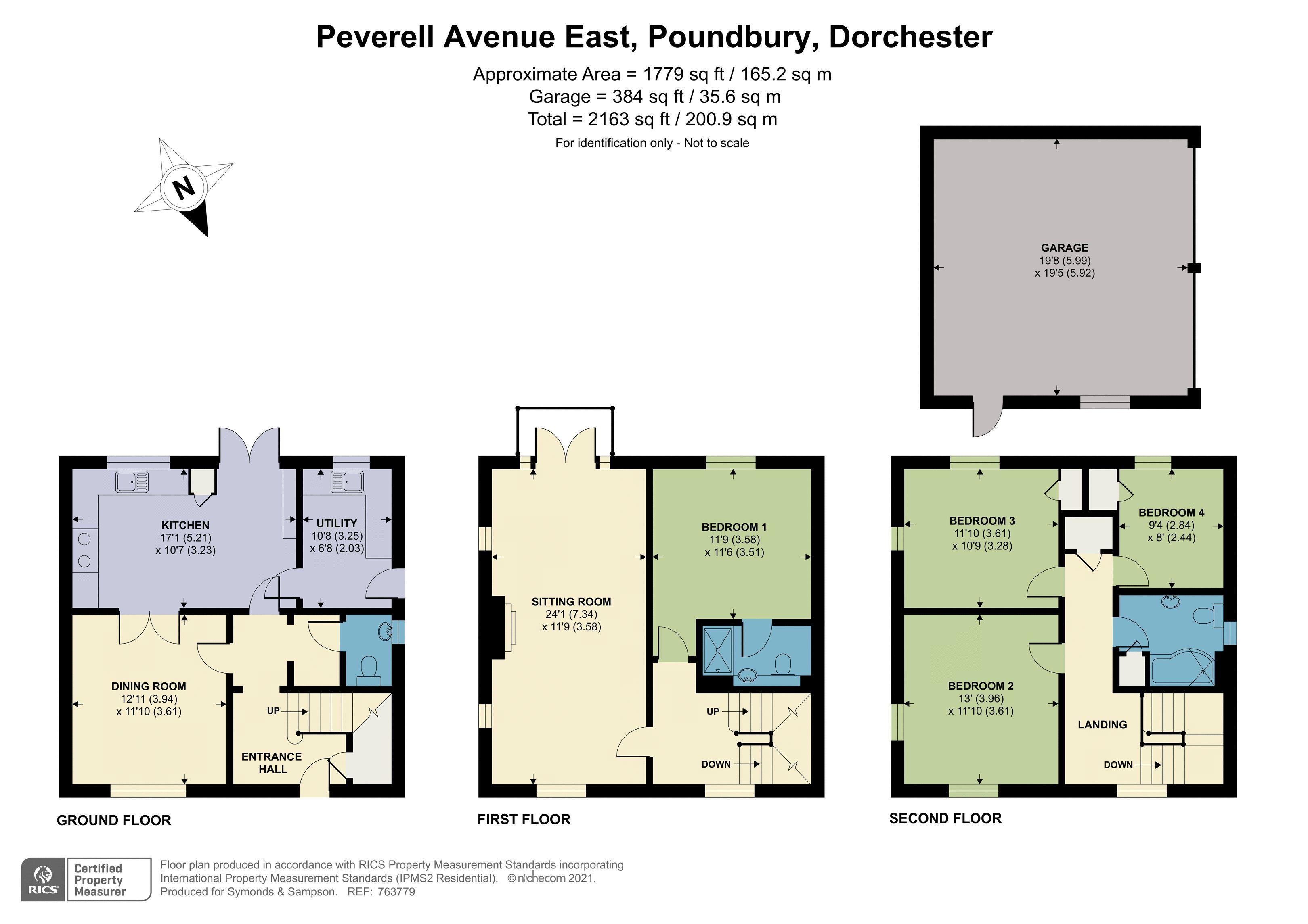 Floorplan - Peverell Avenue East, Poundbury, Dorchester, Dorset, DT1 3RH