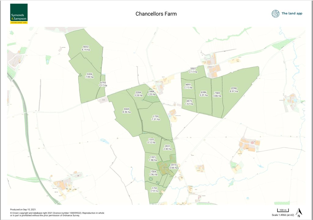 Siteplan - Wanstrow, Shepton Mallet, Somerset, BA4 4TQ