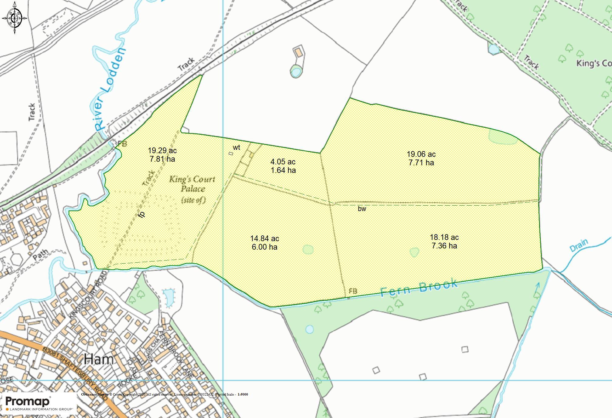 Floorplan - Land At Kings Court Palace, Gillingham, Dorset, SP8 4LD