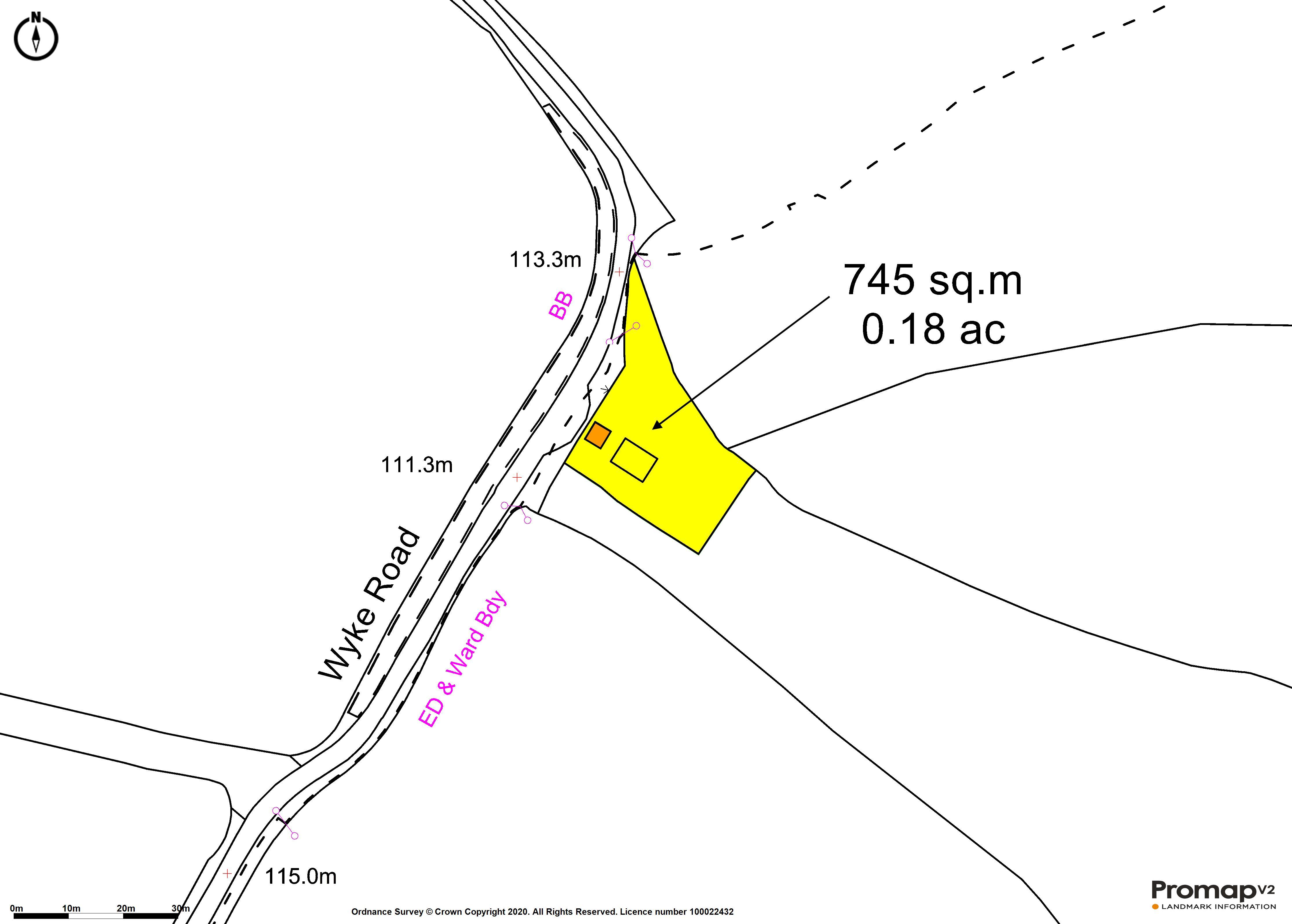 Floorplan - Wyke Road, Castle Cary, Somerset, BA7 7LL