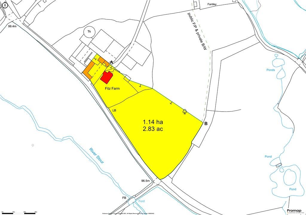 Siteplan - Silton, Gillingham, Dorset, SP8 5DQ